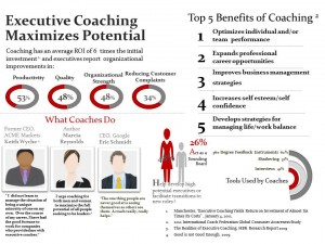 "benefits of coaching If you are fortunate enough to be part of an organization's team that helps provide the executive coaching program, you most likely will hear the question, ""what should i budget for an executive coaching program""."